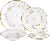 Mikasa Endearment 5 Piece Place Setting with Soup Bowl