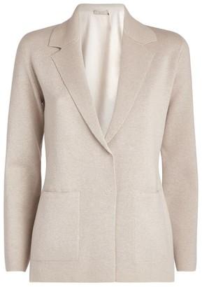 D-Exterior D.Exterior Reversible Knit Jacket