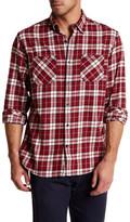 James Campbell Anju Plaid Regular Fit Shirt
