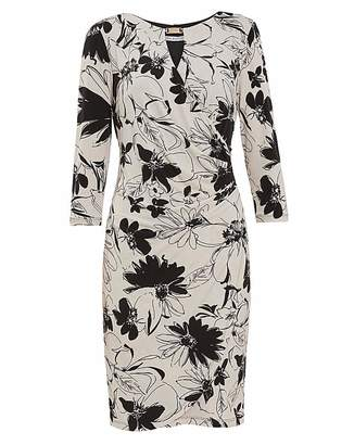 Gina Bacconi Cladine Floral Jersey Dress
