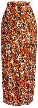 Camilla And Marc Asterid Floral Midi Skirt