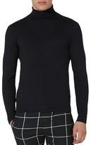 Topman Men's Cotton Turtleneck Sweater