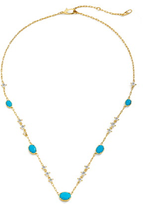 Nadri Issa Stone Frontal Necklace