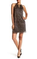 London Times Glitter Pleat Dress