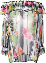 Blugirl floral print blouse - women - Silk - 40