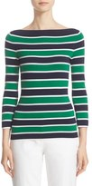 Michael Kors Women's Stripe Cashmere Sweater