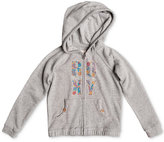 Roxy Floral-Print Logo-Graphic Zip-Front Hoodie, Toddler Girls (2T-5T)
