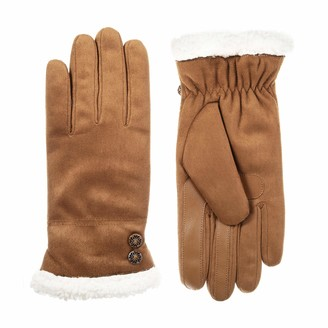 Isotoner Microfiber Women's Gloves Touchscreen Technology Water Repellent