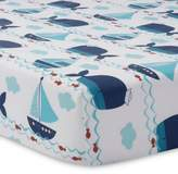 Lambs & Ivy Ahoy Fitted Crib Sheet