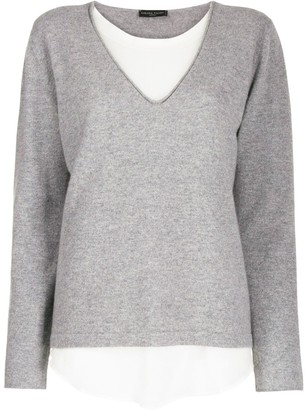 Fabiana Filippi double-layered sweater