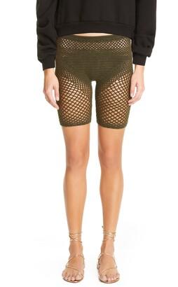 Isa Boulder Sheer Knit Shorts