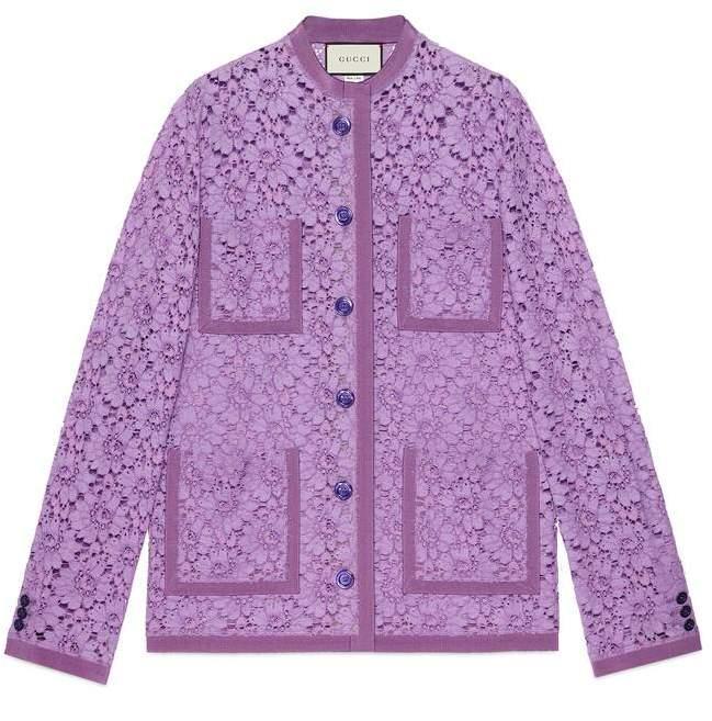Gucci Flower lace jacket
