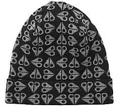 Moose Knuckles Men's Merino Wool Logo Beanie