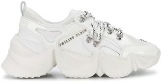 Philipp Plein skull-charm platform sneakers