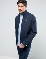 Fred Perry Ealing Harrington Jacket In Navy