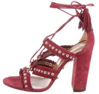 Aquazzura Firenza 105 Sandals