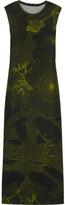 Christopher Kane Printed stretch-jersey midi dress