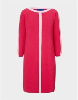 Winser London Winser London Cotton Shift Dress with Trim