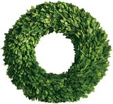 Mills Floral Company Boxwood Round Wreath, Single Side 16""