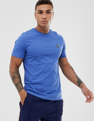 Lyle & Scott logo t-shirt in blue
