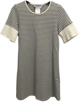 Charles Anastase Ecru Cotton Dress for Women