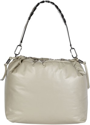 Isabel Marant Baggara Oversized Leather Pouch Bag