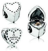 Pandora Gift From The Heart Charm 791247CZ