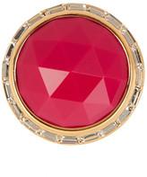 Trina Turk Domed Stone Bezel Set Crystal Ring