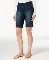 Jag Ainsley Denim Bermuda Pull-On Shorts