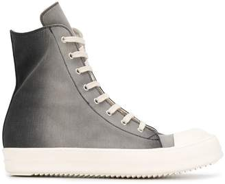 Rick Owens ombre print sneakers