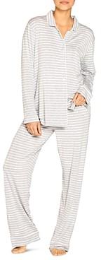 Papinelle Kate Pinstripe Pajama Set
