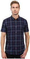 John Varvatos Slim Fit Sport Shirt w/ Cuffed Short Sleeves W443S3B