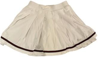 Gucci White Cotton Skirts