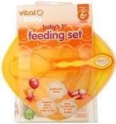 Vital Baby Baby's 1st Feeding Set, Orange by