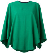 Roseanna cape blouse - women - Silk/Cotton/Spandex/Elastane/Viscose - 36