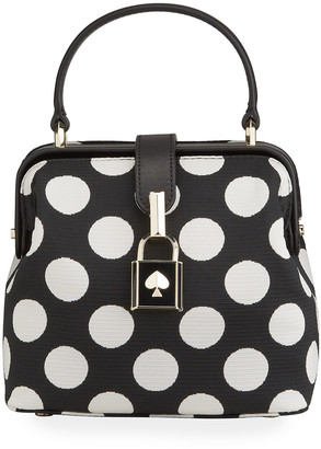 Kate Spade remedy small bikini dot top-handle bag