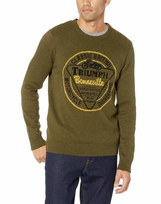 Lucky Brand Men's Long Sleeve Crew Neck Triumph Sweater