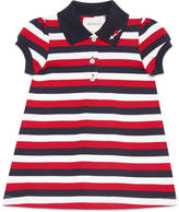Gucci Baby striped polo dress with heart