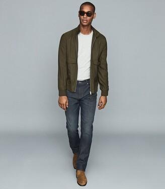 Reiss Willa - Slim Fit Jeans With Stretch in Indigo