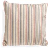 Made In India 20x20 Textured Metallic Stripe Pillow