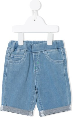 Emporio Armani Kids Elasticated Waist Deinim Shorts