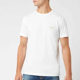 HUGO BOSS Men's Basic Crew Shoulder Logo T-Shirt