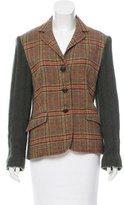 Etro Wool Knit Blazer