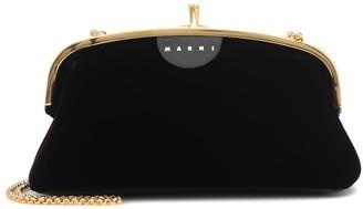 Marni Velvet clutch
