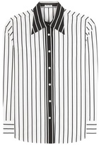 Miu Miu Striped Cotton Shirt