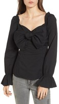 Socialite Women's Bow Front Top