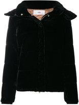 Closed velvet padded jacket