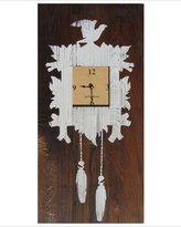Gustavian Woodlands Clock