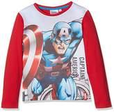 Marvel Boy's Avengers Muscle Team T-Shirt