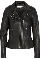 IRO Han Leather Biker Jacket - Black